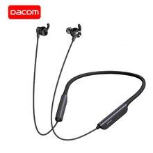 DACOM L54 هادئة ANC بلوتوث سماعة IPX7 مقاوم للماء نشط إلغاء الضوضاء اللاسلكية سماعة مدمج في هيئة التصنيع العسكري آيفون هواوي