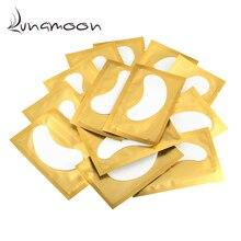 50/100 пар/партия бумажные накладки для наращивания ресниц прививочные наклейки для глаз 7 цветов накладки для ресниц