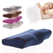 Постельное белье подушка с эффектом памяти для защиты шеи от
