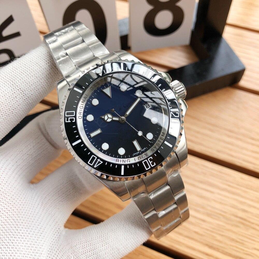Men's Watch Top Brand Luxury Watch Sub Watch Automatic Mechanical Sports Watch Sapphire Glass All Steel Watch Retro Watch