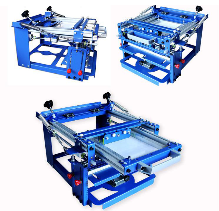 Image 4 - Manual Cylinder Screen Printing Machine for bottle/cup/pen surface curve pressTool Parts   -