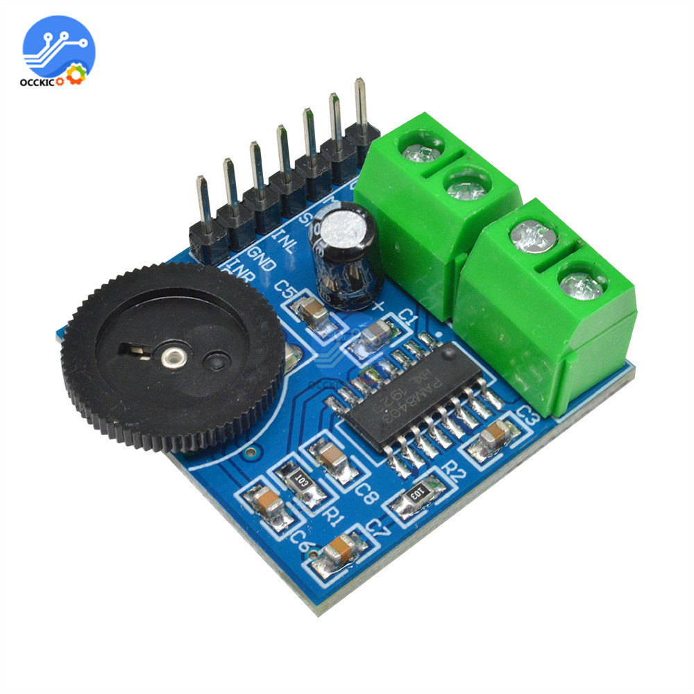 PAM8403 Amplifier Board Class D 5V 3W * 2 Audio Stereo AMP Volume Control Sound Board For Speaker