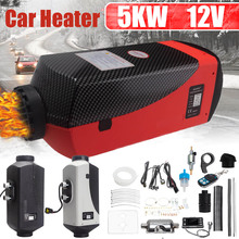 Car-Heater Lcd-Monitor Boats Remote-Control Air-Diesels Switch Silencer 5000W 12V