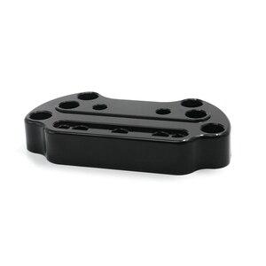 Image 5 - Support de serrage supérieur pour guidon, pour Harley Sportster Dyna, 95 up, XL883 et XL1200, Fat Street Bob Low Rider