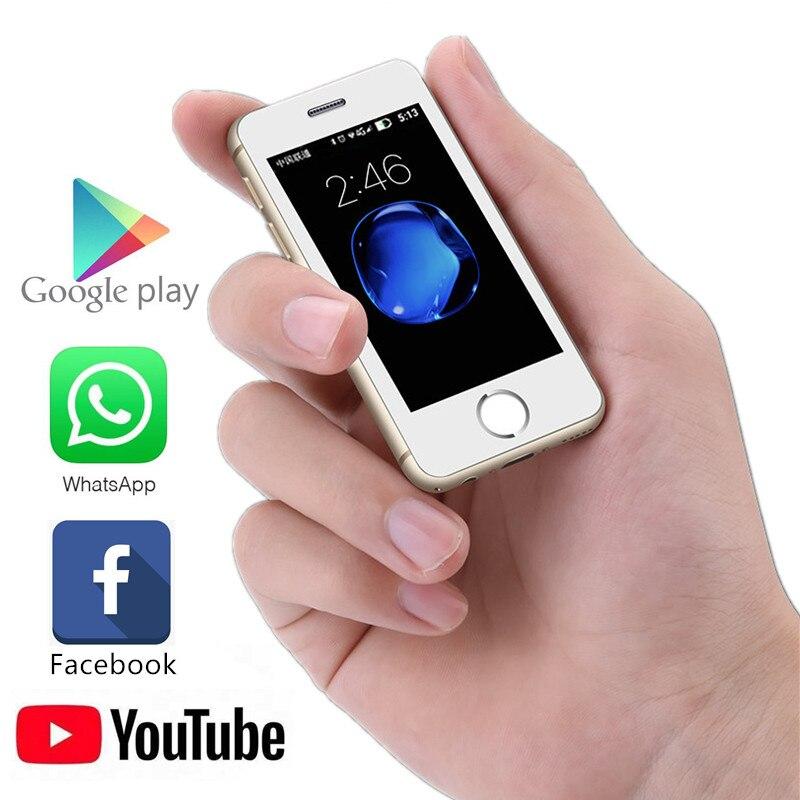 Фото. Маленький смартфон Melrose S9P ультратонкий мини мобильный телефон MT6580A/X четырехъядерный 1 ГБ 8