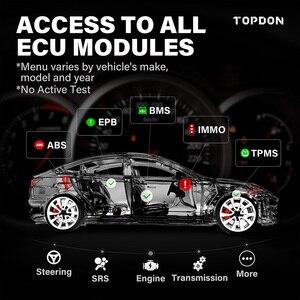 Image 2 - Topdon ArtiDiag800 btカー診断ツール自動車用スキャナー自動スキャンツールbluetoothすべてのシステム28リセット機能pk MK808BT