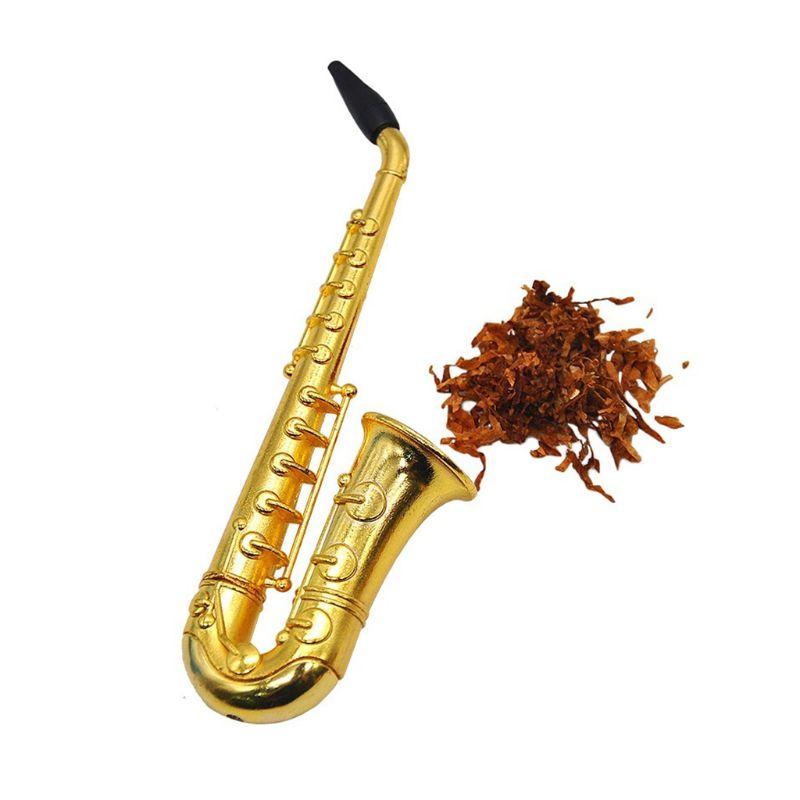 Unique Saxophone Mini Portable Smoking Pipes