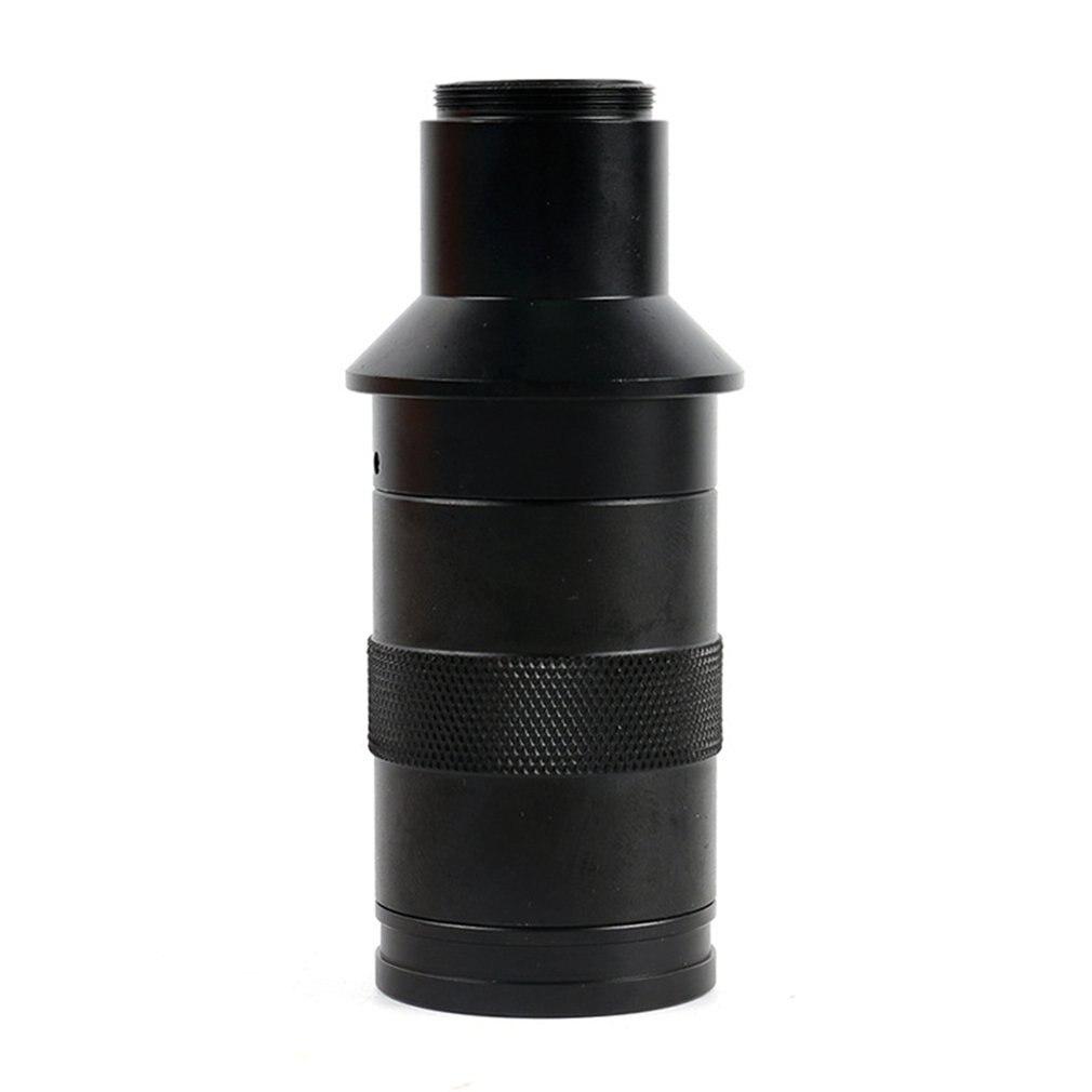 CCD CMOS HD 200X Adjustable Zoom CS C mount Lens Industrial Magnification Eyepiece Lens USB Video