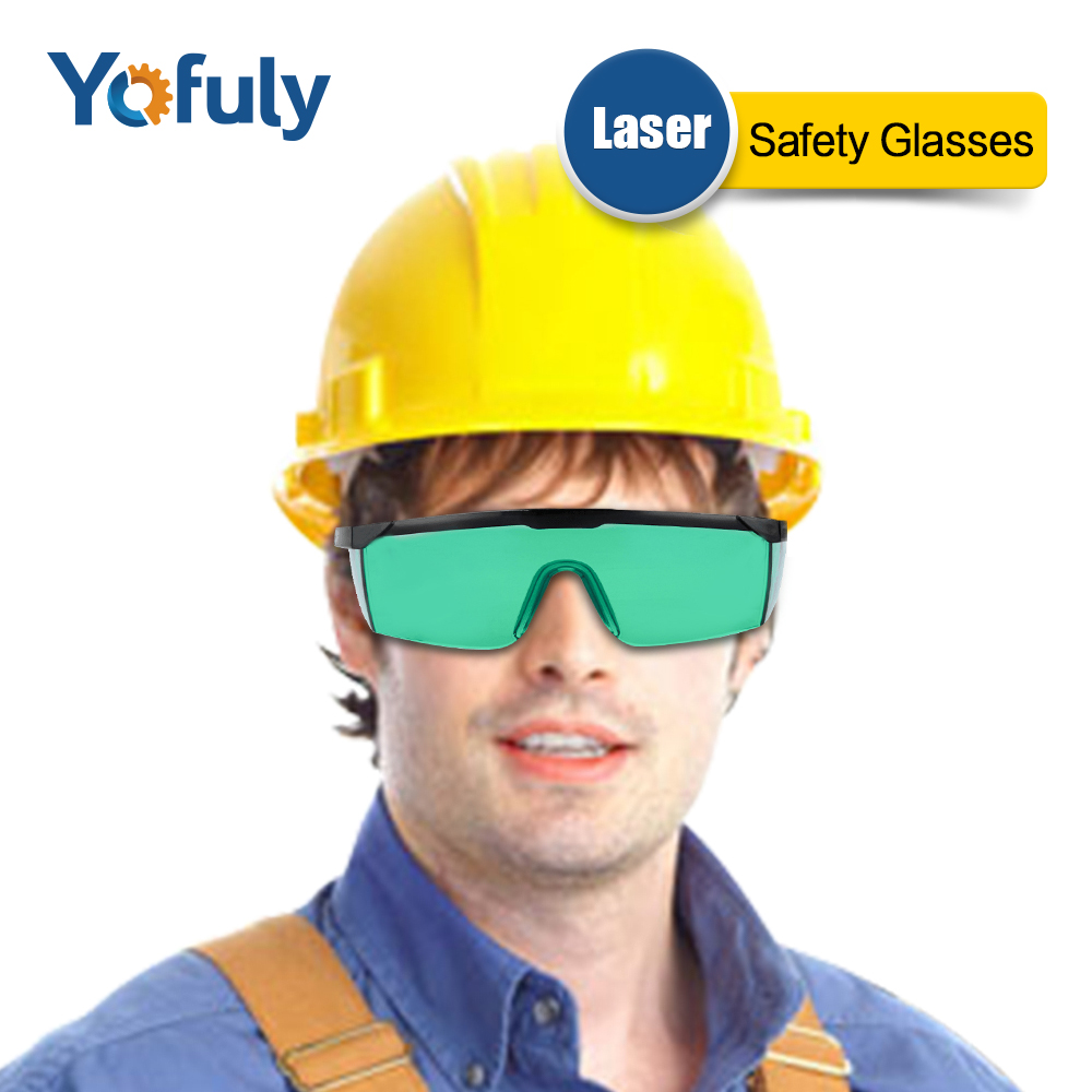 Laser Safety Glasses 405nm 450nm Green Color Protective Goggles for CNC Laser Module Radiation Eye Protection