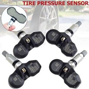 Image 2 - 4Pcs Tire Pressure Monitoring System (TPMS) Sensor 7PP907275F 7PP907275 433Mhz For Audi A4 A6 A8 Q7 R8 Volkswagen 7PP907275D