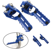 Motorcycle Highway Front Foot Pegs Folding Footrests Clamps 22-25mm For BMW R1250GS R 1250 GS adv adventure LC HP GSA 2019 2020