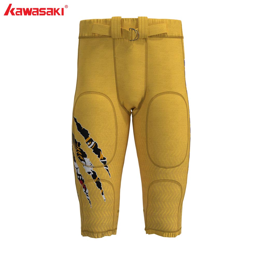 Custom Professional American Football Pants Men Women Child 100% Polyester Comfortable Race Training Football Pant image