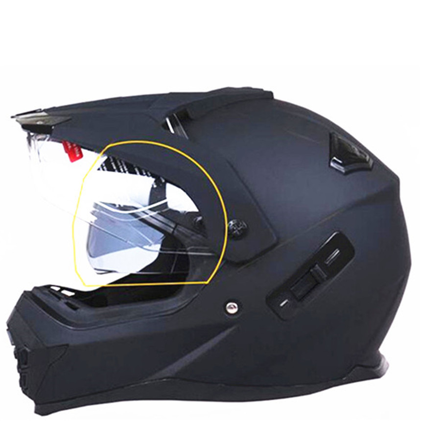 Motorcycle Atv Helmet With Sun Shield