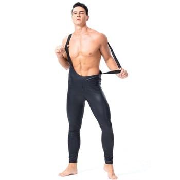 Wetlook Latex Fetisch Body Hosen Overall 1