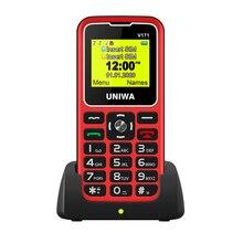 Russian keyboard For Elderly Man 2G GSM Mobile Phone SOS Wireless FM 1000mAh Dual sim Unlock Cellphone 1.77