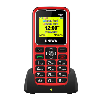Russian keyboard For Elderly Man 2G GSM Mobile Phone SOS Wireless FM 1000mAh Dual sim Unlock Cellphone 1.77 Charging Dock m281 2g gsm desk phone sim based wireless landline telephone