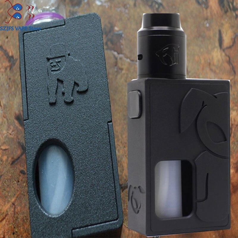 Apocalypse Squonker BF Box Mod 13ml Silicone Bottle 18650 Battery Auto-adjusting 510 Pin Vape Mod Vs Aegis Squonk 100W Mod S Rab