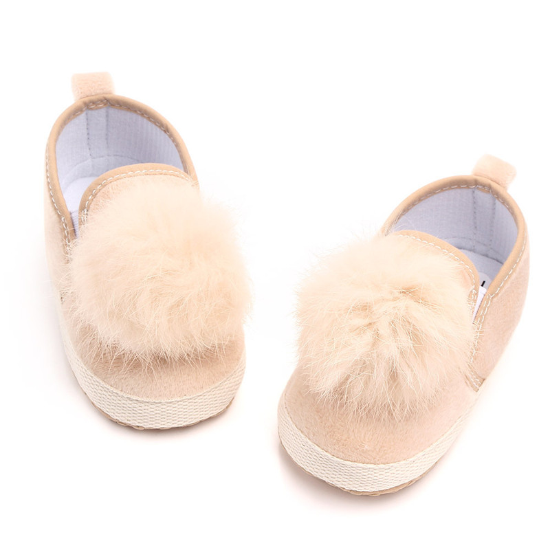 Baby Girl Crib Shoes Newborn Baby Shoes Soft Sole Prewalker Anti-slip Sneakers