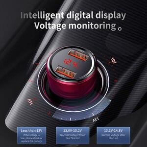 Image 4 - Baseus 45W szybkie ładowanie 4.0 3.0 ładowarka samochodowa USB dla Xiao mi mi Huawei Supercharge SCP QC4.0 QC3.0 szybka PD USB C ładowarka samochodowa