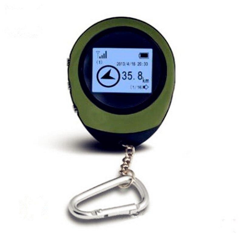 2019 Mini poche GPS Navigation touristique boussole porte-clés PG03 GPRS USB Guide Rechargeable localisation Tracker pour randonnée escalade