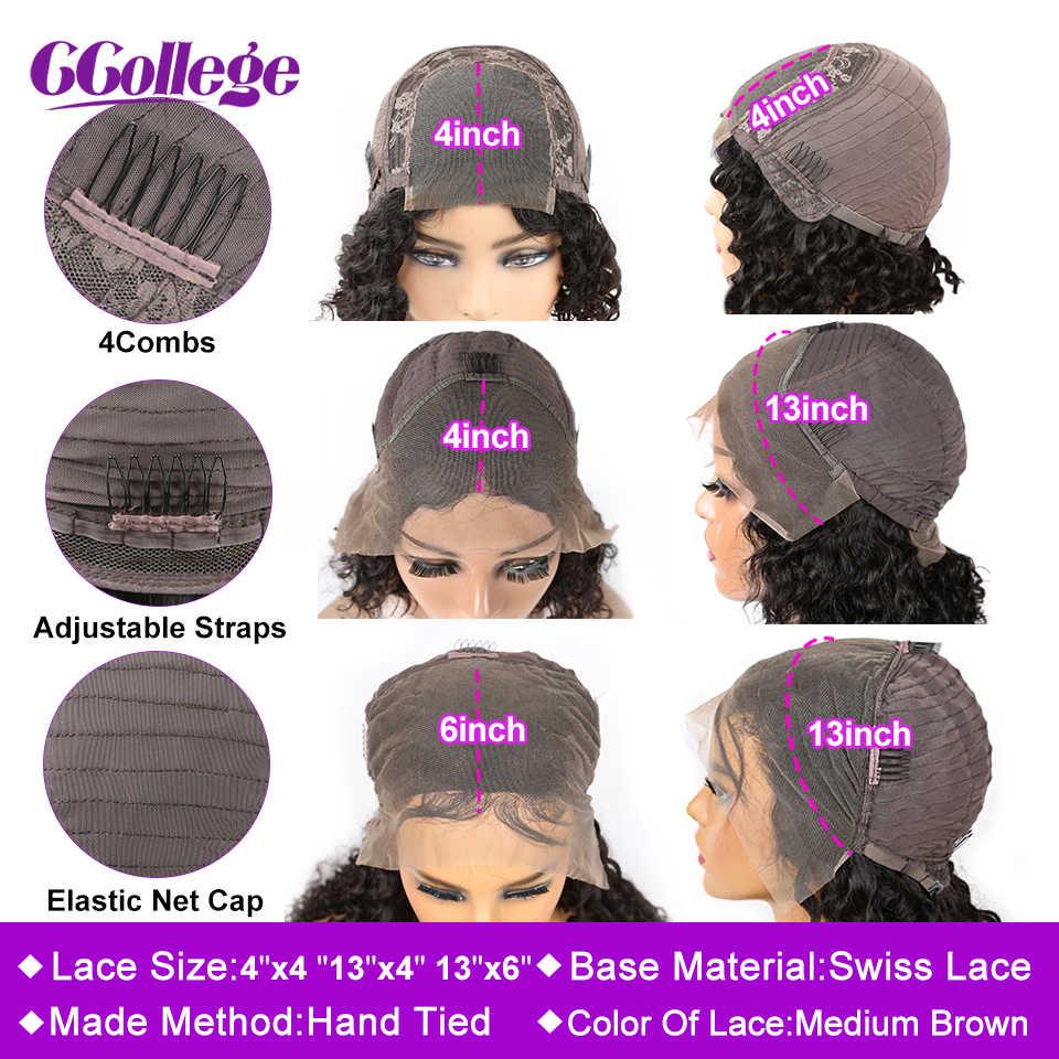 13x4 Spitze Front Menschliches Haar Perücken Pre Gezupft Natürliche Haaransatz Malaysische Lockige Menschenhaar Perücken Für Schwarze Frauen 150% Remy Haar Perücke
