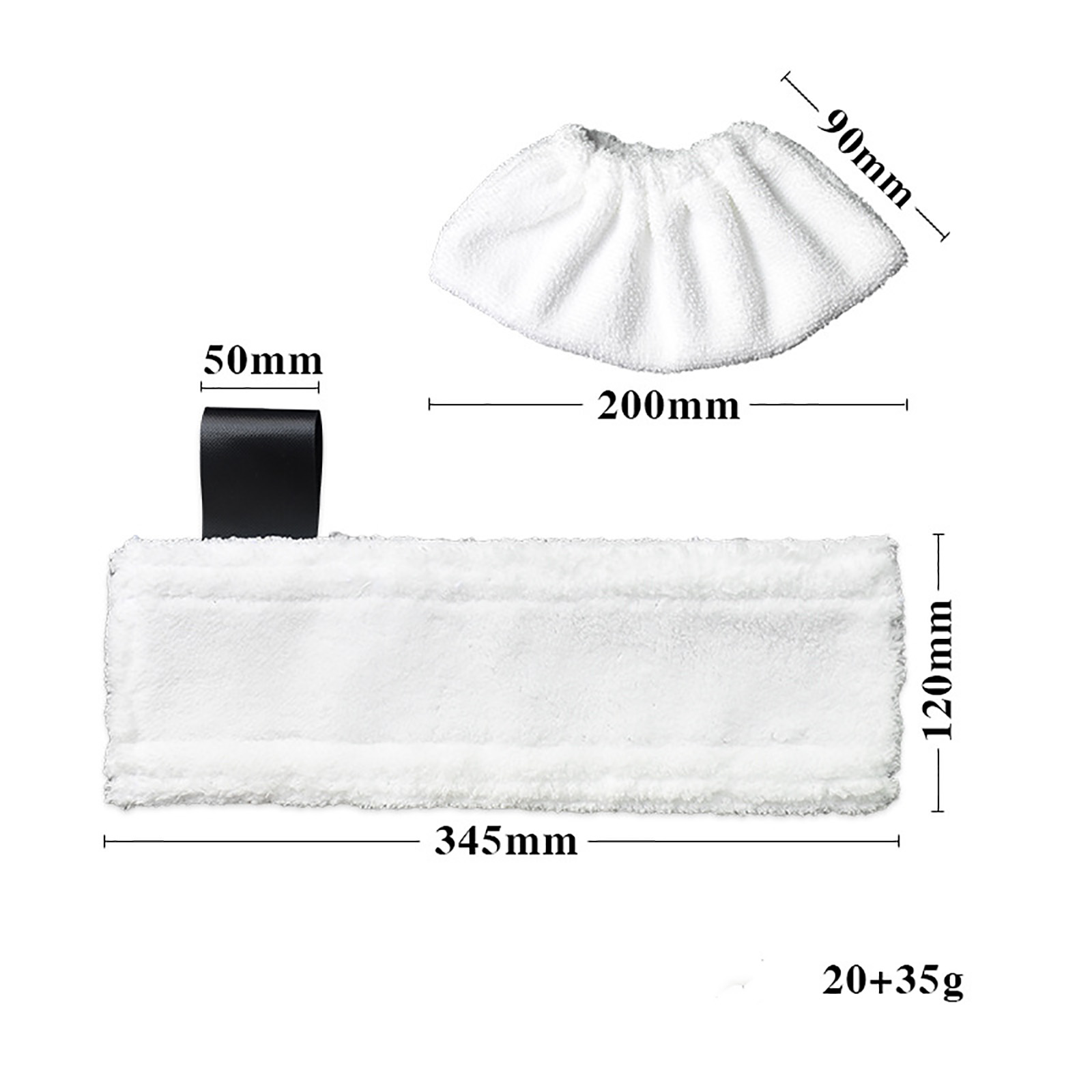 Replacement Steam Mop Cloth Cover Cleaning Pads Household Cloth Cover For Karcher SC2 SC3 SC4 SC5 Steam Mop Cleaner Parts