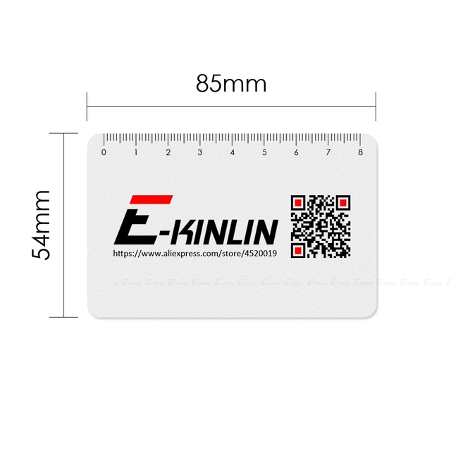 Ruler Plastic Open Mobile Phone LCD Screen Disassembly Teardown Repair Pry Opening Tool Scraper Measuring Business Tools Card 6