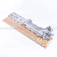 Frete grátis kobelco sk250 kato hd1023/1430 correspondência 6d16t/6d17 radiador de óleo do motor capa lateral|Pistões  anéis  hastes e peças| |  -