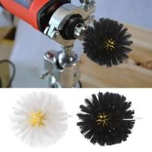 Deburring Nylon Wire Brush Head Polishing Grinding Buffing Mushroom Wheel Shank