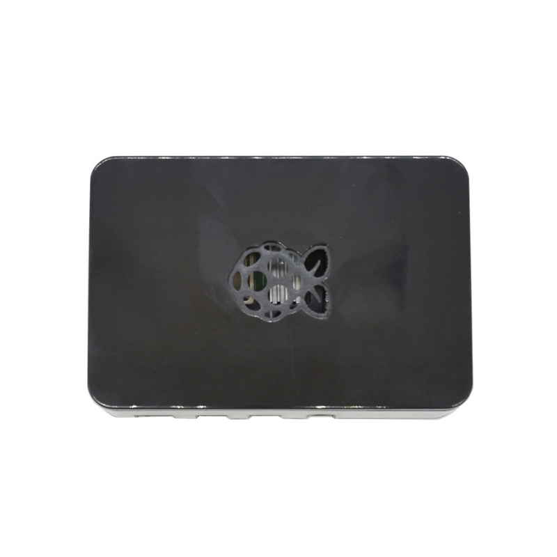 For Raspberry Pi 4 Model B ABS Case 2G RAM DIY Kit With Silver Heatsink 5V 3A Power Adapter For Raspberry Pi 4B(EU Plug)
