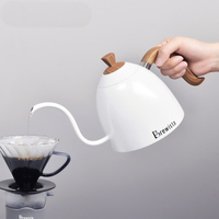 Stainless Steel Drip Kettle pot Pour Over Coffee Tea Kettle Gooseneck Pot For Stove 700ml Hand Drip Coffee Pot
