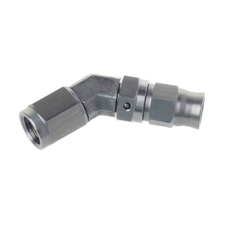Hot New AN -3 AN3 JIC 45 Degree Stainless Steel PTFE Custom Brake Hose Fitting