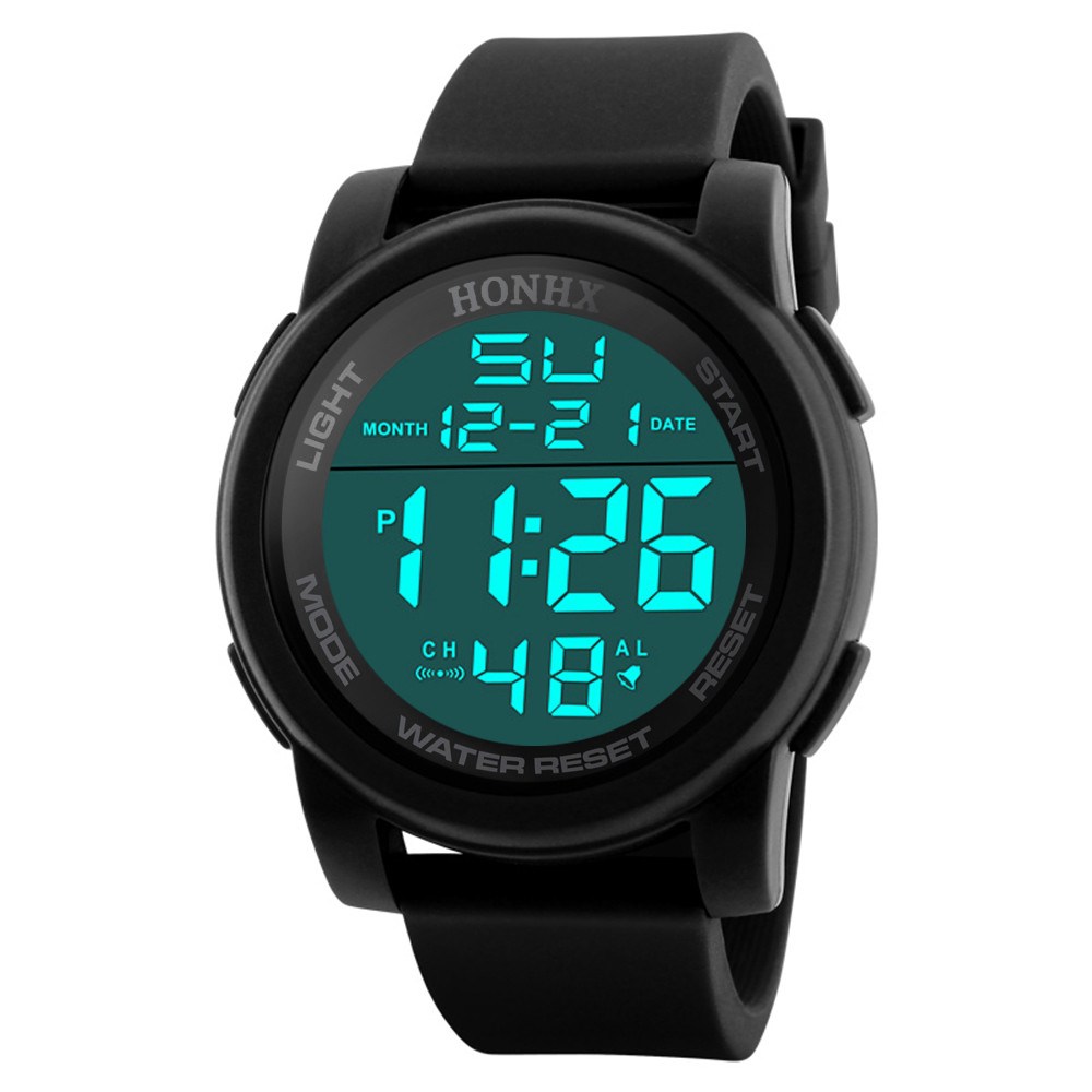 Analog Digital Sport Wristwatch