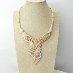 Image 2 - Yuminglai دبي حلي مجموعات مجوهرات الأزياء الأفريقية FHK7001