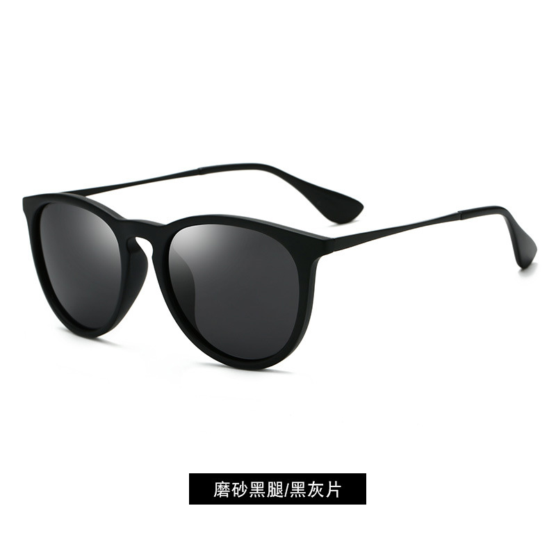 Fashion Retro Classic Metal Round Polarized Sunglasses Men Women Luxury High Quality Vintage Mirrors Sun Glasses UV400