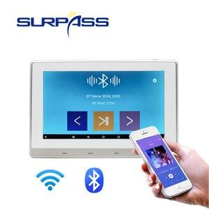 Image 5 - スマートホーム無線lan bluetoothタッチスクリーン壁アンプオーディオホームステレオサブウーファーandroidサウンドアンプでRJ45 RS485