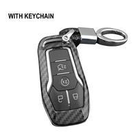 Caso chave fob saco titular abs casca dura capa peças chave capa caso acessórios de automóvel para ford mondeo mustang edge explorer f150|Estojo de chaves p/ carro| |  -