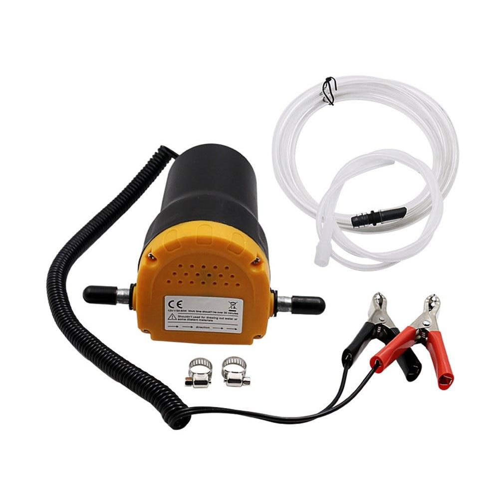 12V/24V Engine Oil Pump Electric Self-suction Pump Motor Oil Diesel Extractor Scavenge Suction Transfer Change Pump For Car