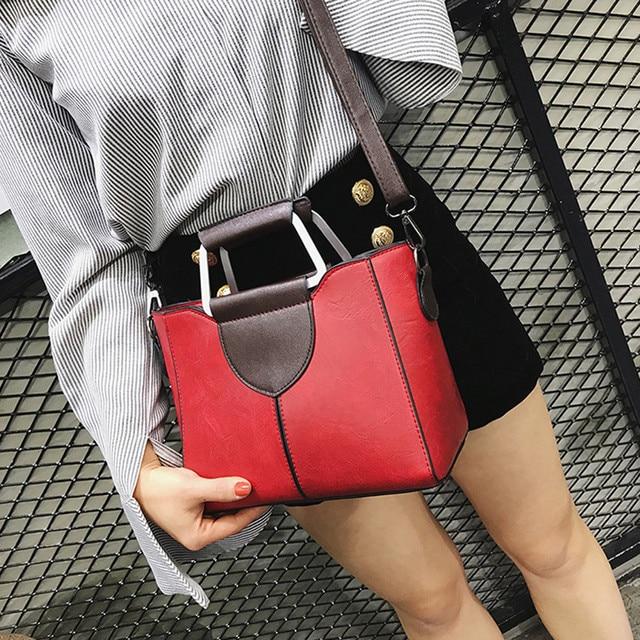Women's Fashion Solid Color Leather Shoulder Bags With Corssbody Bag Handbag Ladies Outdoor Multifunction Messenger Bag Handbags