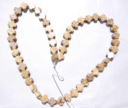 8*8 мм натуральный камень Turquoises Опал Кварцевый кристалл тигровый глаз Крест бисера для Diy ювелирных изделий браслет ожерелье аксессуары 50 шт