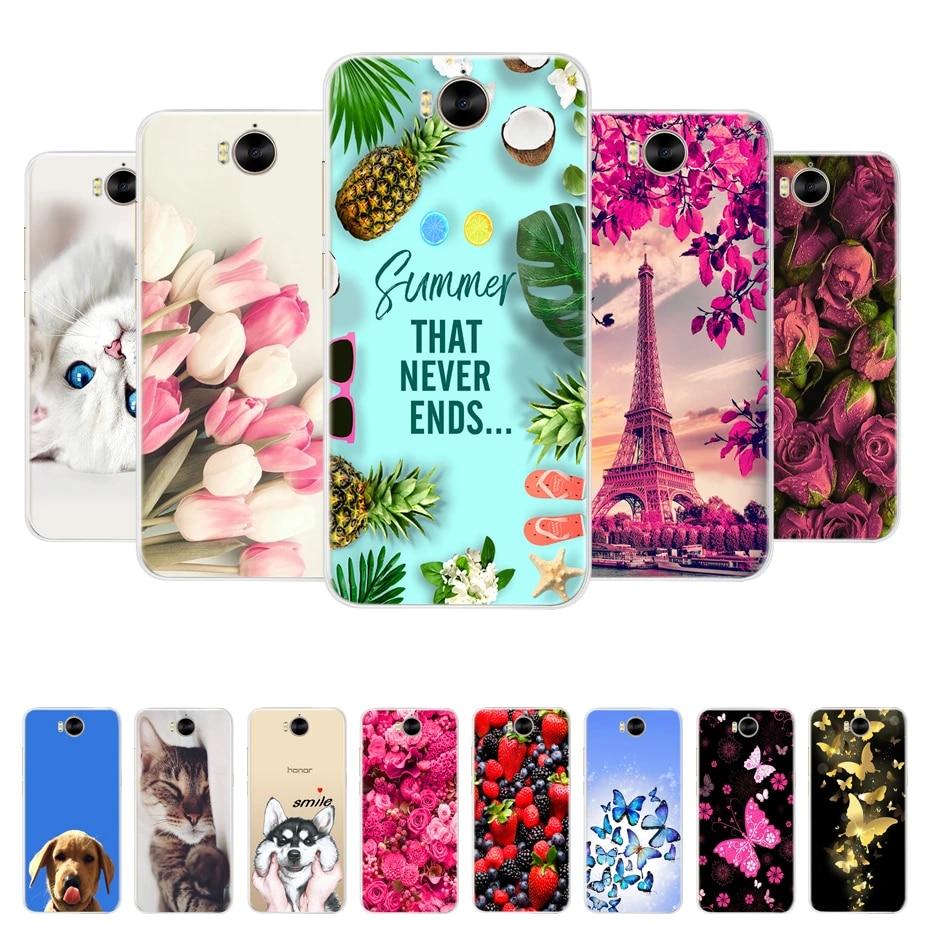 Pour Huawei Y5 2017 Y6 2017 Housse Huawei Y5 2017 Téléphone étui pour Huawei Y6 2017 Mya-L22 Mya-u29 Étui En Silicone Souple Funda coque