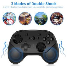wireless bluetooth game controller vibration six axis gamepad controller with gyroscope accelerator for switch console Wireless Bluetooth Game Remote Controller Joystick Vibration Console Game Pad Gamepad for Switch Pro Switch Lite