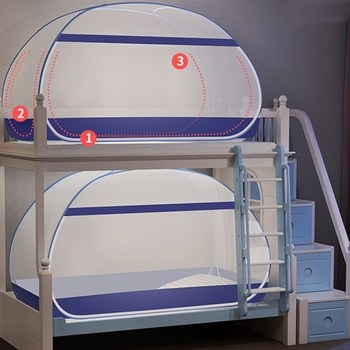 Full Bottom Student Mosquito Net For Dormitory Bunk Bed Foldable Three Doors Children Mosquito Netting 1m Singke Bed Tent Canopy Buy At The Price Of 24 50 In Aliexpress Com Imall Com