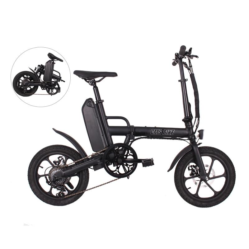 36v250w foldable electric bike with  LCD displayer disc brake 1