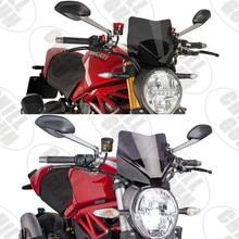 Sport Touring Windschutz Windschutz Viser Visier Deflektor Für DUCATI Monster 797 M797 MONSTER 821 M821 1200 1200S 1200R 14 20
