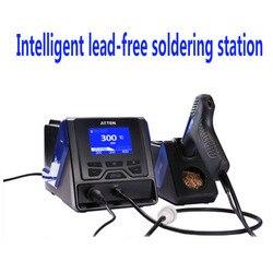 Estación de soldadura de alta potencia Antaixin sistema de mantenimiento multifuncional sin plomo de GT-5150 inteligente de alta potencia de 150W