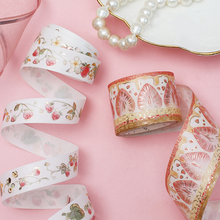 1 PC Colored tape  Birthday Wedding Decoration And Handbook Diary Gifts ribbon Decor For Home