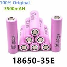2021 100% 18650 оригинальный 3500 мА/ч для 20A de INR18650 35E 3500 мА/ч 18650 литий-ионный аккумулятор 3,7 В Аккумулятор Перезаряжаемый