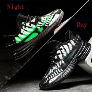 Image 1 - Baskets tendance pour Homme, chaussures de sport Design de marque printemps et automne chaussures décontractées pour adultes