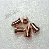 50 Pcs Taglio Al Plasma di Consumo Della Torcia PT80 PT-80 IPT80 PTM-80 Ugello/Tip Ref: 51311 (1.0 1.1 1.2 1.3 Millimetri)